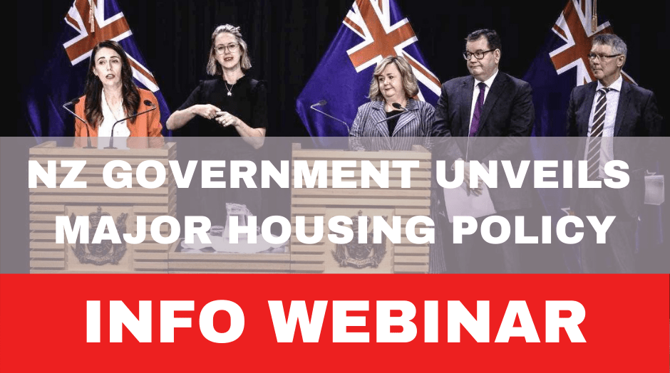 New Policy Changes for Housing Investment, recording of webinar